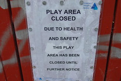 Play Area Closed...