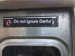 do not ignore darfur