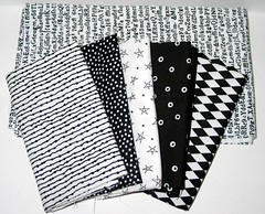 Black & White Fabric Stash