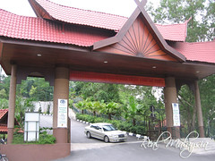 Main entrance gate