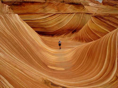 Волна, штат Аризона. The Wave, Arizona. Парки США, Аризона