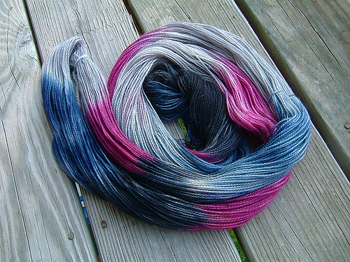 Another dyeing experiment