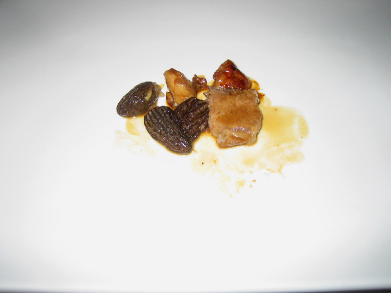 Can Roca - Baby Lamb w/ Morels, Lamb Trotters, & Sweetbreads