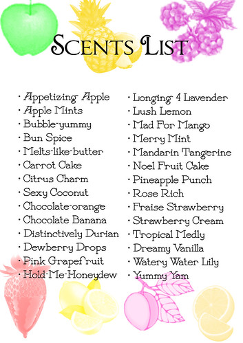 scents list