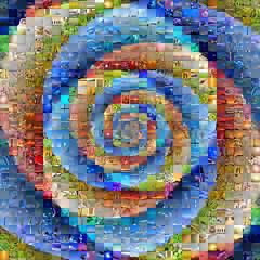 Mosaic  Blossom #2