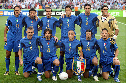 Italia - Ghana | La formazione Italiana
