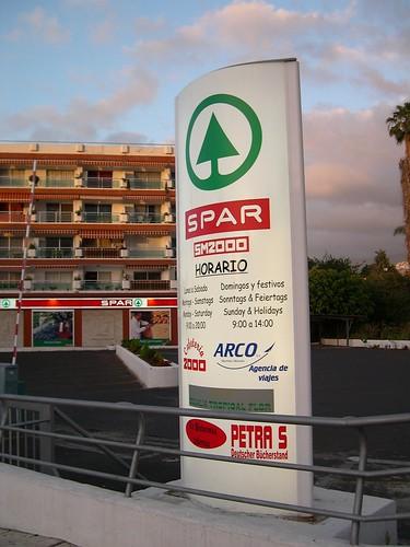 Siop Spar, Puerto de la Cruz, Tenerife