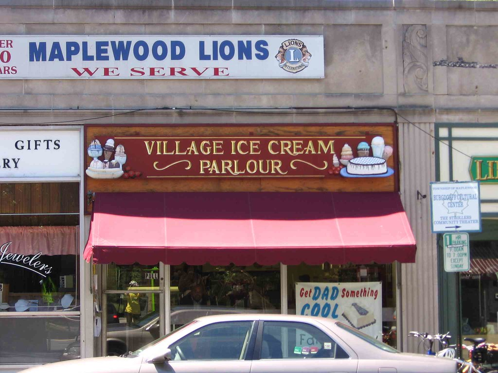 Maplewood ice cream parlour