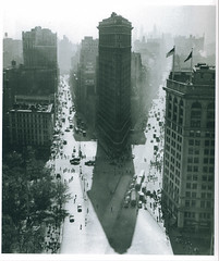 Flatiron Building, Summer, New York, 1947/1948, Rudy Burckhardt