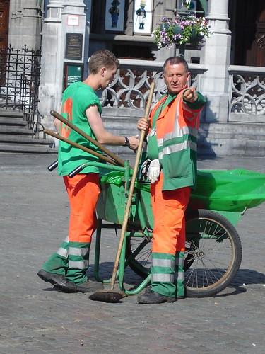 Bruxelas Trabalhadores Grand Place