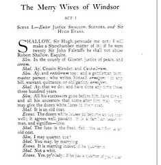 Google Merry Wives of Windsor