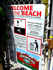 broad beach sign