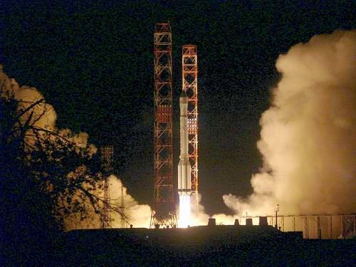 KazSat-1 Launch