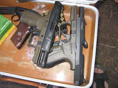 Walther P22 and P99