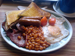 All Day Breakfast at Cafe Maria, Dalry Road, Edinburgh