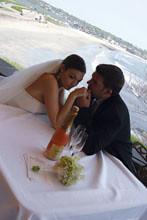Outdoor Wedding at The Chanler in Newport Rhode Island