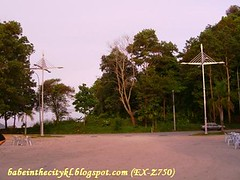 hilltop05 - penang bridge lamp posts
