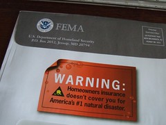 Mail from FEMA? Must be important.