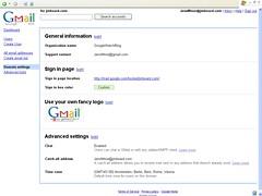 Domain-Einstellungen