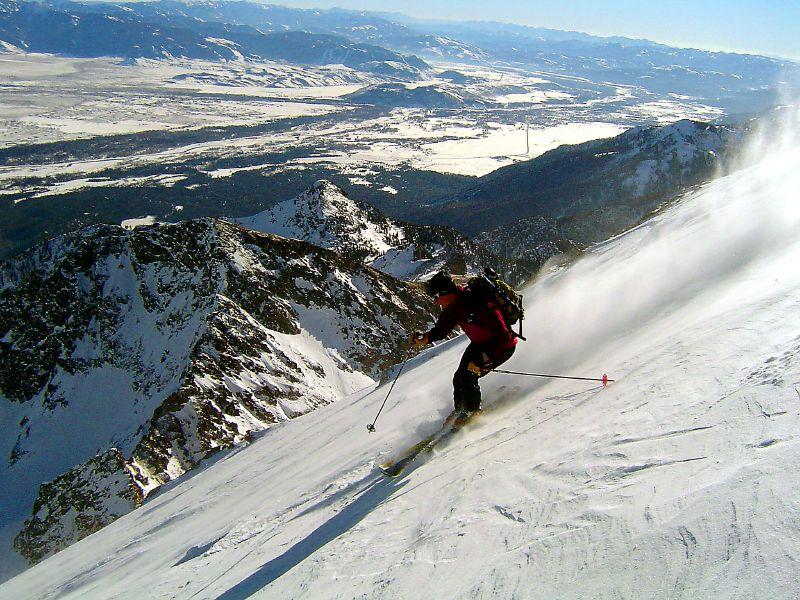 Windbuff on Buck's upper slopes