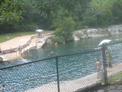 Spring mouth at Barton Springs