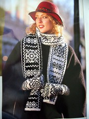 Selbustrikk scarf