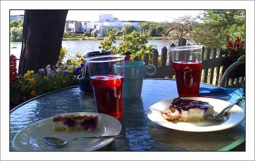 Sinisen Huvilan kahvila