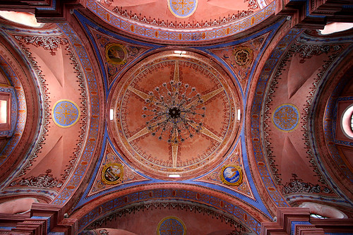 Pink dome, Tlacotalpan, Mexico