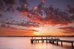 Sunset @ Lake Macquarie photo by -yury-
