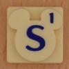 Disney Scrabble Letter S