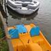 Paddle Boat + 6 Person Sea Doo Aqua Lounger