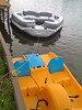 Paddle Boat + 6 Person Sea Doo Aqua Lounger