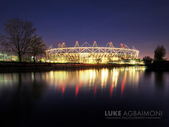 London 2012 Olympic Stadium photo by Luke Agbaimoni (last rounds)