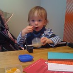 Having fruit in wagamama<br/>18 Jun 2011