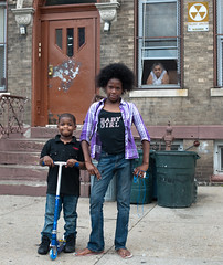 Brother and sister: East New York, Brooklyn photo by Chris Arnade