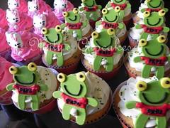 Sapo Pepe y Kitty photo by Mily'sCupcakes