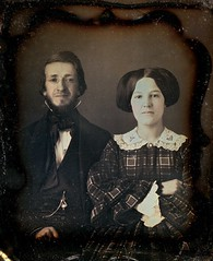 Look, Darling--How Amazing! 1/6th-Plate Daguerreotype, Circa 1854 photo by lisby1