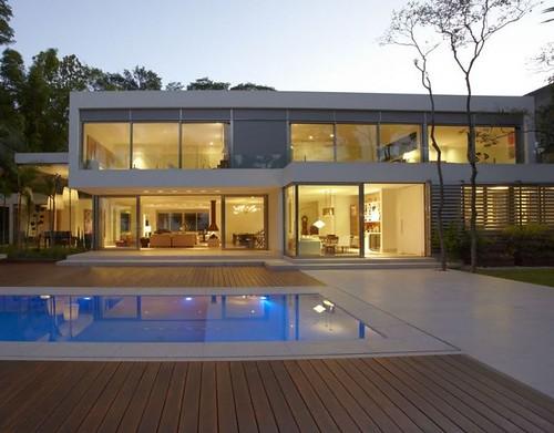 Fotos de casas minimalistas arkigrafico - Casas de diseno minimalista ...