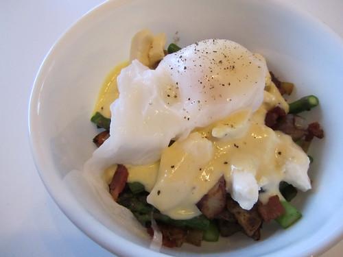 Asparagus Bacon Breakfast Poutine
