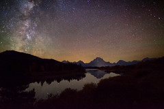 "Starry Autumn Night at Oxbow photo by IronRodArt - Royce Bair (""Star Shooter"")"