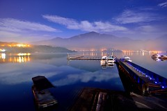 Misty Dawn at Sun Moon Lake @日月潭 photo by Vincent_Ting