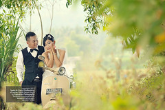 Pre Wedding Photoshoot n Engagement Photography w Vintage Vespa in Jogja Indonesia photo by Fotografer Pernikahan Pre Wedding Jogja Yogyakarta