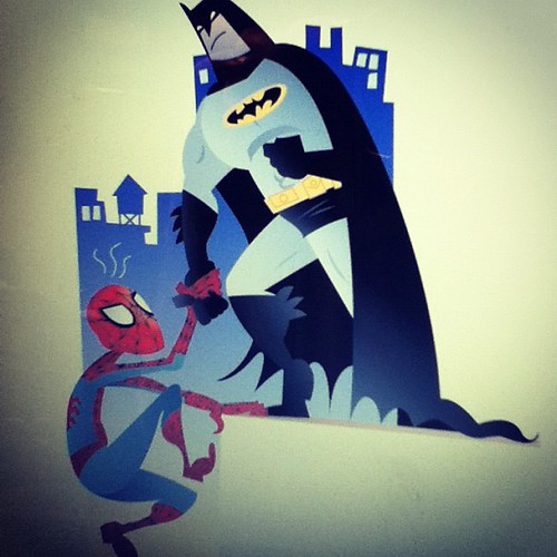 #spiderman #batman #illustration finishing up