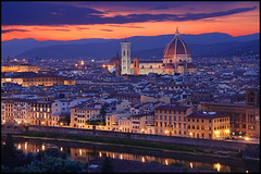 Florence Skyline from Piazzale Michelangelo photo by nabilishes [on and off]