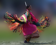 Pink Shawl Dancer photo by misst.shs