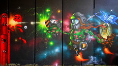 2013 Tamworth NUE Urban Arts Fest - Awesome Graffiti art by Graffiti Artist: Si2 - Hull Graffiti photo by Andy_Hartley