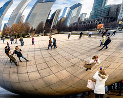 Photographing the Bean photo by Sky Noir