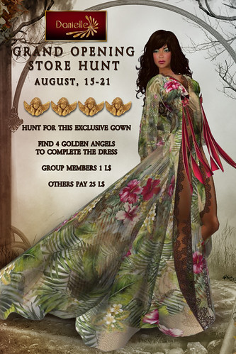 Danielle Grand Opening Hunt Gown