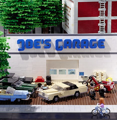 Outside the garage photo by -derjoe-
