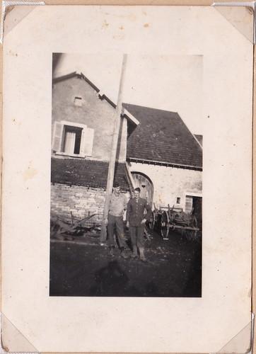 Automne 1944 - BM 21 à Cerre-les-Noroy  - Col. P. Ruiz